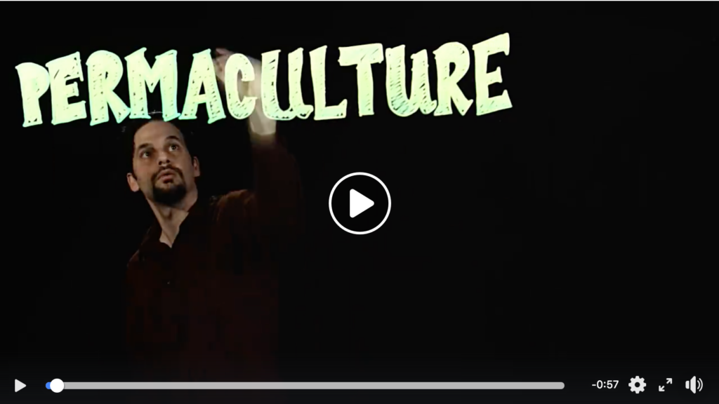 video trailer for permaculture oregon state university design