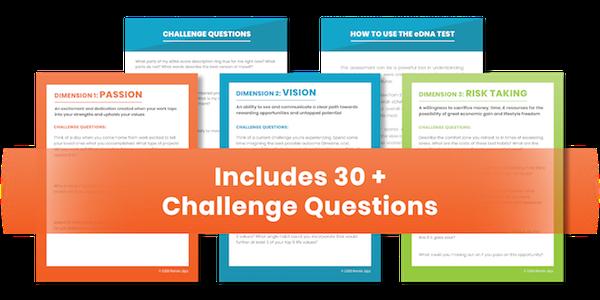 Entrepreneur Challenge Questions